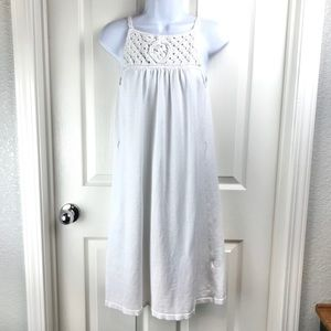 A/X Armani Exchange Linen Blend White Shift Dress